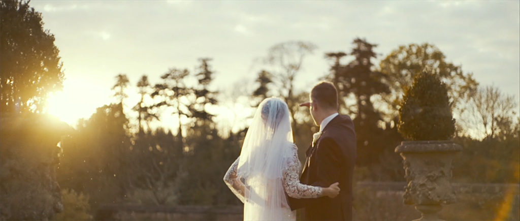 Cinematic Videography Film Grafton Manor romantic couple love sunset