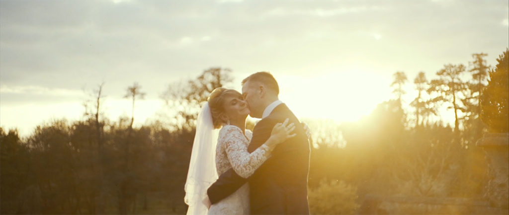 Cinematic Videography Film Grafton Manor romantic couple sunset love